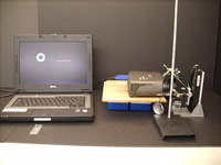 Various laboratory equipment for use within the lab.